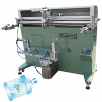 TM-1200e Rotary Bucket Cylinder Screen Printing Machine for Bottle
