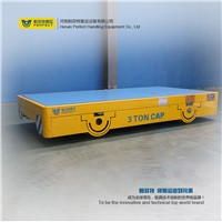 Trackless Bed Cargoes Transfer Car with Custom-Built Deck
