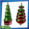 Cardboard Christmas Tree Display Stand Made with Foamboard with 5 Shelves Suitable for Chritmas Gifts, Life-Size Christm