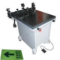 TM-6080s Flatbed Screen Printing Machine for Glass Packing