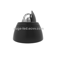 LED Wall Washer Lamp 10W/15W RGBW Changing Color IP65, Small Round Wall Washer Lamp Asymmetric Beam Angle