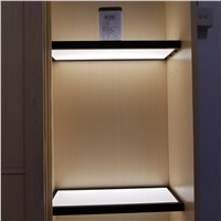 LED under Cabinet Light Laminate Wooden Shelf Light