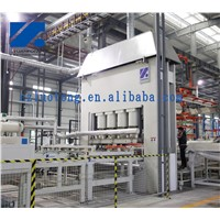 High Speed Melamine Lamination Line for Wood Base Panel