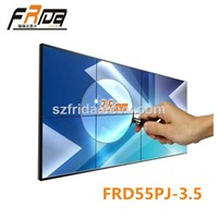 55 Inch Seamless LCD Video Wall / Splicing Screen / Video Media Player &Stitching Gap 3.5mm