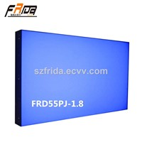 55 Inch Seamless LCD Video Wall / Splicing Screen / Video Media Player &Stitching Gap 1.8mm