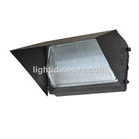 DLC Qualified Semi Cut-off LED Wall Pack Lights-Glass Refractor, 60W, 5 Year Warranty