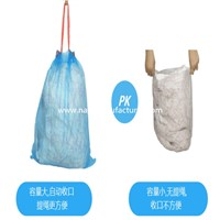 Supply Large Size Garbage Bags with Drawstring