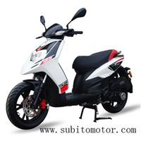125CC Gas SCOOTER EPA SCOOTERS 150CC 4T Motos Moped Bike