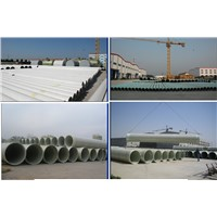FRP/GRP Process Pipe for Environmental Protection