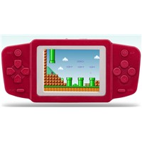 Classic FC 268 Games 2.5inch Bright Display Portable Games Players Handheld Game Console with Dual Power & Retail Box