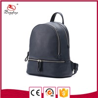 Gold Zipper Black High Quality Backpack Women Mini Backpacks