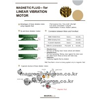 Magnetic Fluid for Linear Vibration Motors