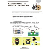 Magnetic Fluid for Speaker & Hearing Aid