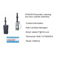 Pneumatic Outswing Bus Door Cylinder Assembly(POM100)