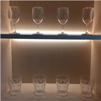 25mm Wooden Shelf Liminate Cabient LED Light