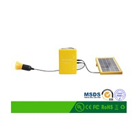 3W LED Mini Home Solar Lighting System for Africa/Middle East/Central America Marketing