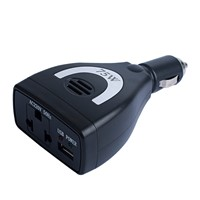 75W Modified Sine Wave DC to AC Power Inverter Car Inverter with USB American Socket