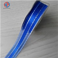 Wholesale 100% Polyester Organza Ribbon with Satin Center