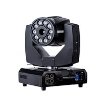 Rasha 10*8W RGBA Quad Color LED Moving Head Fog Machine with Immediate-Stop Technology Special Effects