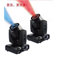 Rasha 24pcs*5W RGBA LED Moving Head Smoke Machine Stage Special Effects Fog Machine 10CH