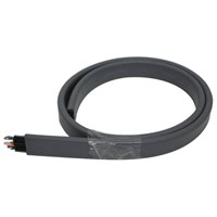 Combined Flat Cable with CAT6E Network Cable & Coaxial Cable (TV)