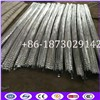4 Meter Long Conertina Electricity Fence Barbed Wire In Straight Line