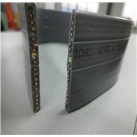 Special PVC Flexible Flat Crane Cable, Flat Travel Cable for Cranes Or Hoists Lifter H07VVH6-F
