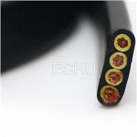 Flat Crane Cable, Flat Travel Cable for Cranes Or Hoists (Flat Cable 3C*25mm)