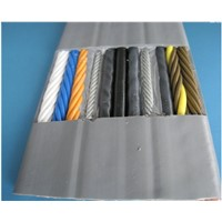 Flat Travel Cable for Elevator Use with CAT6E Network Cable & TV Signal Coaxial Cable