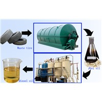 Waste Engine Oil to Diesel Oil Machine