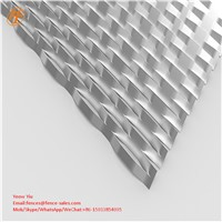 Diamond Shape Raised Expanded Metal Sheet Mesh for Facade