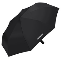 NALANDA Automatic Folding Travel Umbrella Auto Open & Close (Grey&Black)