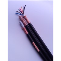 Bare Copper Braid Round Cable for Electrical Apparatus / RVVP