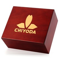 CHIYODA Spanish Cedar Wood Humidor Hold 30 Cigars Humidor Cigar Storage