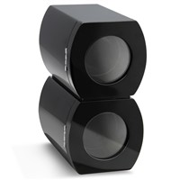 CHIYODA Double Watch Winder with Quiet Mabuchi Motor- Black