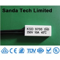 Temperature Overload KSD9700 N/C Normally Closed Auto Reset Thermal Protector