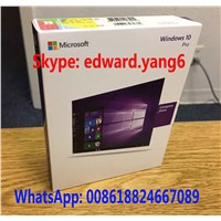 W/Win 10 PRO USB Original Online Active Key Code Coa Sticker& Packing Box