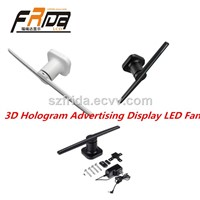 3D Hologram Advertising Display LED Fan Imaging WiFi FRD-QX2