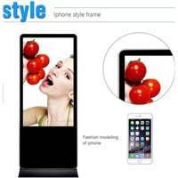 55 Inch Totem Android Touch LCD Advertising Digital Signage Display for Shopping Mall