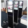 22 Inch Full HD Floor Stand LCD Advertising Screen with Holders for Indoor Use