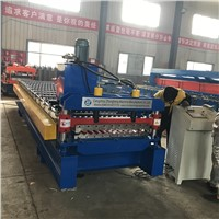 Zinc Roofing Sheet Roll Forming Machine