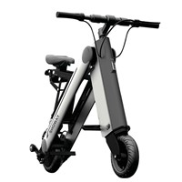Showay-4 10inch Foldable Electric Bike Folding Electric Bicycle with Aluminium Alloy Frame 11.6AH Lithium-ion Battery
