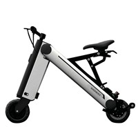 Showay-2 8inch Foldable Electric Bike Folding Electric Bicycle with Aluminium Alloy Frame and 11.6AH Lithium-ion Battery