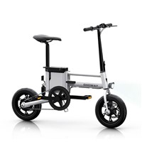Showay-5 Foldable Electric Bike Folding Electric Bicycle with Multiple Modes and 5.0AH 18650 Lithium-ion Battery