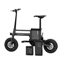 Showay-6 Foldable Electric Bike Folding Electric Bicycle with Multiple Modes and 8.7AH 18650 Lithium-ion Battery