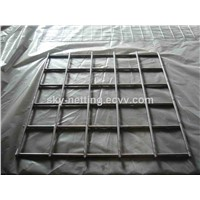 Israel 570*450 Mm Black Welded Wire Mesh Fence Panel
