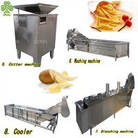 Automatic Potato Chips Making Machine Potato Chip Cutter Price