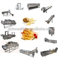 Fully Automatic French Fries Making Machine Potato Chip Maker