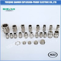Industrial Type Brass Cable Gland for Unarmored Cable IP66