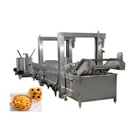 Industrial & Commercial Automatic Electric Gas Coal Heating Continuous Deep Potato French Fries Frying Machie